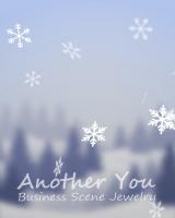 雪の結晶が降ります。ブログ画面にも雪の結晶が降る設定ができます。